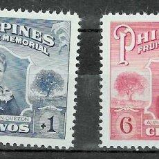 Sellos: FILIPINA Nº 401 AL 402 (**). Lote 218186901