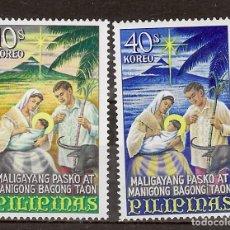 Sellos: FILIPINA Nº 680 AL 681 (**). Lote 218187046