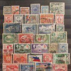 Selos: FILIPINAS, LOTE DE SELLOS USADOS (FOTOGRAFÍA REAL). Lote 223091516