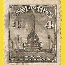Selos: FILIPINAS. 1947. MONUMENTO A RIZAL. Lote 223769906