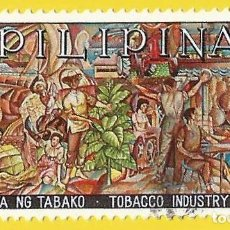 Selos: FILIPINAS. 1968. INDUSTRIA DEL TABACO. Lote 223770845