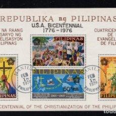 Sellos: FILIPINAS HB 9 - AÑO 1976 - BICENTENARIO DE LA INDEPENDENCIA DE ESTADOS UNIDOS. Lote 224496831