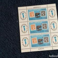 Sellos: ESPAMER BARCELONA 77 SELLOS FILIPINAS AÑO 1977 NUEVO PERFECTO ***. Lote 235507425