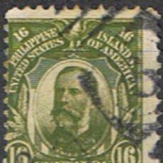 Timbres: FILIPINAS // YVERT 212 // 1906-14 ... USADO. Lote 239850635