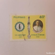 Sellos: FILIPINAS SELLO USADO. Lote 240795685