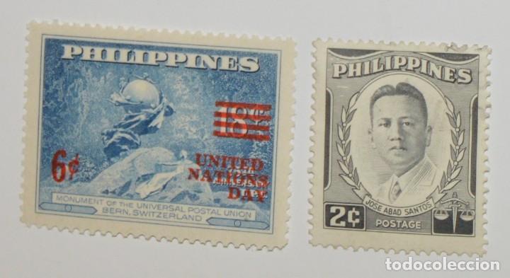 PHILIPPINES - LOTE 2 SELLOS 1959 - NUEVOS (Sellos - Extranjero - Asia - Filipinas)