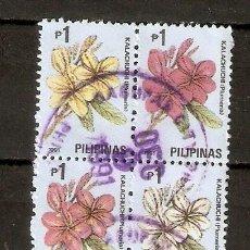 Sellos: FILIPINAS . 1991. FLORES.. Lote 253692330