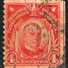 Sellos: FILIPINAS (ADMINISTRACIÓN DE ESTADOS UNIDOS),IVERT 205 B, USADO. Lote 254056720