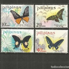 Sellos: FILIPINAS YVERT NUM. 743/746 SERIE COMPLETA NUEVA SIN GOMA. Lote 262943955