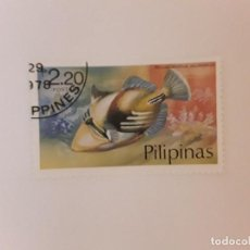 Sellos: FILIPINAS SELLO USADO PECES. Lote 267876674