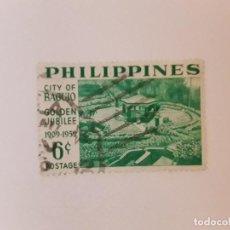 Selos: FILIPINAS SELLO USADO. Lote 270532853