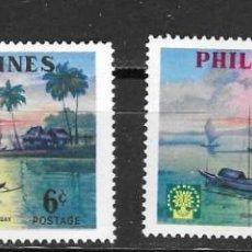 Sellos: FILIPINA Nº 496 AL 497 (**). Lote 270747558