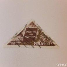 Selos: FILIPINAS SELLO USADO. Lote 272182618