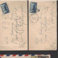 Sellos: 1936 1946 FILIPINAS A ZARAGOZA (ESPAÑA) 6 CARTAS. Lote 272468888