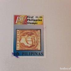 Selos: AÑO 2004 FILIPINAS SELLO USADO. Lote 273612098
