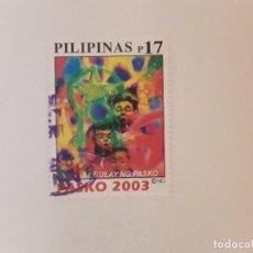 Selos: AÑO 2003 FILIPINAS SELLO USADO. Lote 275710078