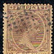 Sellos: FILIPINAS // YVERT 118 // 1891-93 ... USADO. Lote 279445703