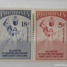 Sellos: FILIPINAS,1954.. Lote 286253558
