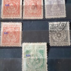 Sellos: FILIPINAS,1898. GOBIERNO REVOLUCIONARIO.. Lote 286408703