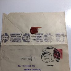 Sellos: PAQUEBOT. PAQUEBOTE MANILA MADRID 1926. Lote 287976488