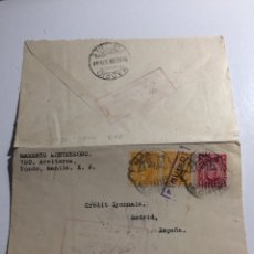 Sellos: PAQUEBOT. PAQUEBOTE TONDO, MANILA A MADRID 1926. Lote 287976733