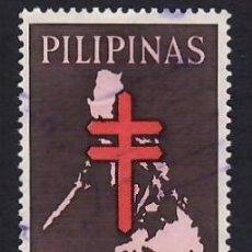 Francobolli: FILIPINAS (1963). LUCHA CONTRA LA TUBERCULOSIS. YVERT Nº 569. USADO.. Lote 289525168