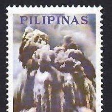 Sellos: FILIPINAS (1968). 3ER ANIV. DE LA ERUPCIÓN DEL TAAL. AÉREO. YVERT Nº PA70. NUEVO** CON FIJASELLOS.. Lote 289525448
