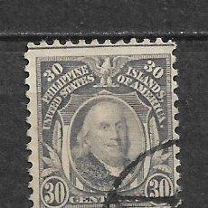 Sellos: FILIPINAS 1914 USADO - 8/22. Lote 292538558