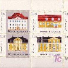 Sellos: FINLANDIA CARNET 867** - AÑO 1982 - ARQUITECTURA FINLANDESA. Lote 23270499