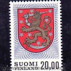 Sellos: FINLANDIA 787 SIN CHARNELA, ESCUDO NACIONAL . Lote 11858555