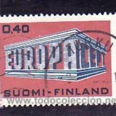 Sellos: FINLANDIA 623 USADA, TEMA EUROPA 1969. Lote 10488096