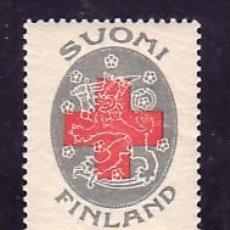 Sellos: FINLANDIA 108 SIN CHARNELA, CRUZ ROJA,. Lote 9785535