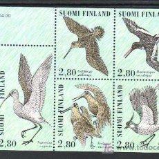 Sellos: FINLANDIA HB 17 SIN CHARNELA, PAJAROS, AVES, DIA DEL SELLO,. Lote 11427896