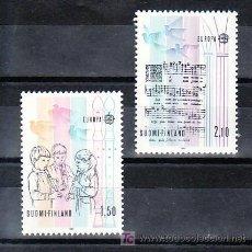 Sellos: FINLANDIA 932/3 SIN CHARNELA, TEMA EUROPA 1985, AÑO EUROPEO DE LA MUSICA, . Lote 12084893