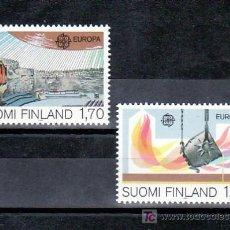 Sellos: FINLANDIA 890/1 SIN CHARNELA, TEMA EUROPA 1983, GRANDES OBRAS DE LA HUMANIDAD, . Lote 10834315