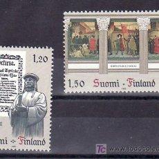 Sellos: FINLANDIA 865/6 SIN CHARNELA, TEMA EUROPA 1982, HECHOS HISTORICOS, . Lote 11950280