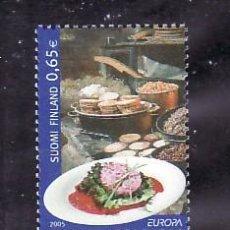 Sellos: FINLANDIA 1715/6 SIN CHARNELA, TEMA EUROPA 2005, GASTRONOMIA, . Lote 10840372