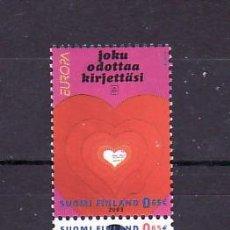 Sellos: FINLANDIA 1621/2 SIN CHARNELA, TEMA EUROPA 2003, EL ARTE DEL CARTEL. Lote 10840465