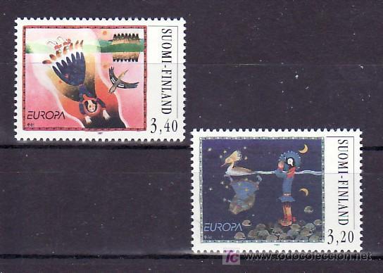 FINLANDIA 1346/7 SIN CHARNELA, TEMA EUROPA 1997, CUENTOS Y LEYENDAS, (Sellos - Extranjero - Europa - Finlandia)