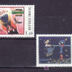 Sellos: FINLANDIA 1346/7 SIN CHARNELA, TEMA EUROPA 1997, CUENTOS Y LEYENDAS, . Lote 10840480