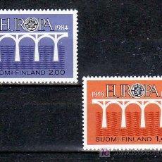 Sellos: FINLANDIA 908/9 SIN CHARNELA, TEMA EUROPA 1984, XXV ANIVERSARIO CONFERENCIA EUROPEA, . Lote 11933391