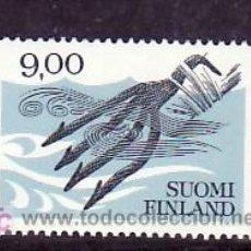 Sellos: FINLANDIA 903 SIN CHARNELA, ARTESANIA, PESCA,. Lote 10865496
