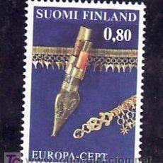 Sellos: FINLANDIA 753 SIN CHARNELA, TEMA EUROPA 1976, ARTESANIA, . Lote 10866038