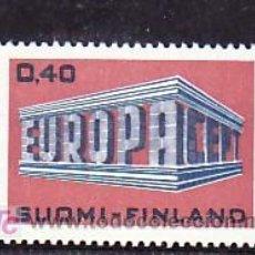 Sellos: FINLANDIA 623 SIN CHARNELA, TEMA EUROPA 1969, 10º ANIVERSARIO CONFERENCIA EUROPEA, . Lote 10866079