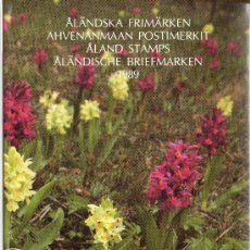 Sellos: ALAND FINLANDIA AÑO 1989 COMPLETO EN CARPETA OFICIAL YV 32/37*** (VER FOTOS). Lote 27522360