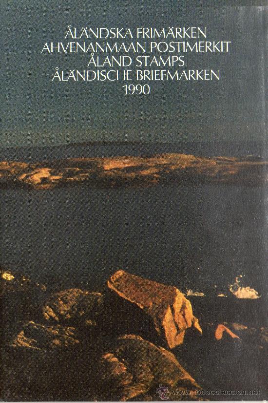 ALAND FINLANDIA AÑO 1990 MI 38/43*** COMPLETO EN CARPETA OFICIAL (VER FOTOS) (Sellos - Extranjero - Europa - Finlandia)