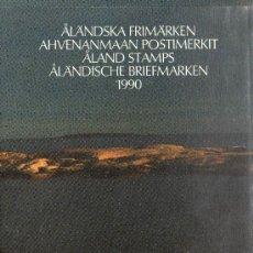 Sellos: ALAND AÑO 1990 MI 38/43*** COMPLETO EN CARPETA OFICIAL (VER FOTOS). Lote 27522361