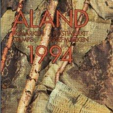 Sellos: ALAND AÑO 1994 COMPLETO MI 79/91*** EN CARPETA OFICIAL - CZ SLANIA. Lote 27522359