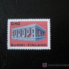 Sellos: FINLANDIA 1969 IVERT 623 *** EUROPA. Lote 15332128