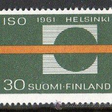Sellos: FINLANDIA AÑO 1961 YV 511* ESTANDARIZACIÓN NORMA ISO - CIÉNCIA Y TÉCNICA. Lote 15696529